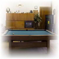 biljart pool bouwtekening